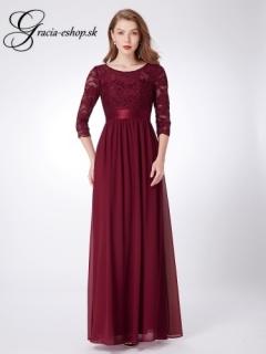 Spoločenské šaty model 7412 - bordová empty 9c05fd1271a