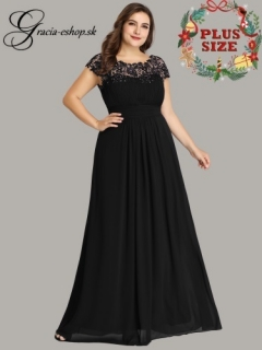 10f5d93c3aac Čierne dlhé spoločenské šaty model 9993 empty