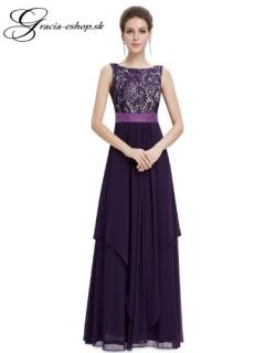 48b373e09846 Spoločenské šaty model 8217 - fialová empty