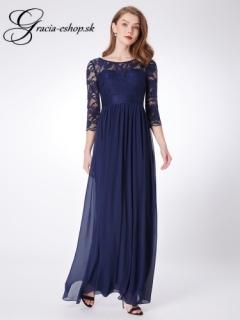 82f0c0a417e7 Spoločenské šaty model 7412 - tmavo modrá empty