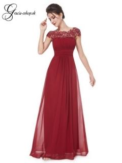 26ac79d30e74 Spoločenské šaty model 9993 - bordová empty