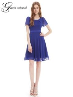 e5b88a3b02b6 Spoločenské šaty model 3990 modrá - M empty