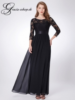 Čierne čipkované spoločenské šaty model 7412 -XXL empty 7d2e2ed91eb