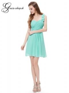 2c4e74303ce6 Spoločenské šaty model 3535 svetlo tyrkysová - M empty