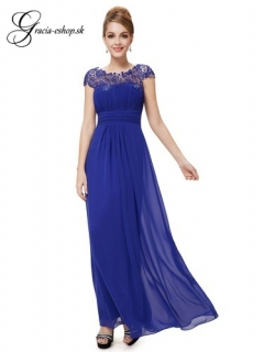 67a787ac62a6 Spoločenské šaty model 9993 modrá - XS empty