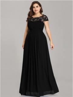 2202485eefdc Spoločenské šaty model 9993 čierna - XL empty