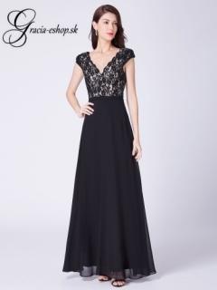 151683f56e94 Čierne spoločenské šaty na ramienka model 7344 empty