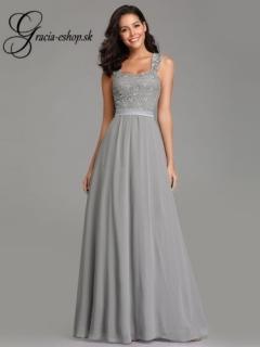 4080b8b285f5 Dlhé spoločenské šaty na ramienka model 7704 empty