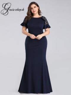 ae85a02c6a92 Dlhé spoločenské šaty s čipkovanými ramienkami model 7768 empty