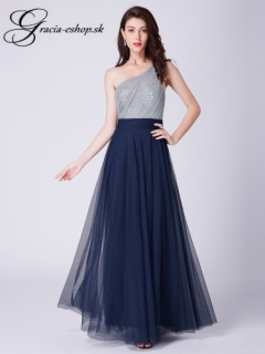 b9ff69c72a6b Tylové spoločenské šaty model 7404 - tmavo modá empty