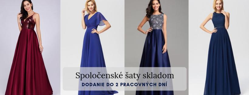 7db32bd7ac76 Spoločenské šaty skladom