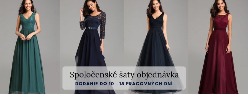 17761102a38e Hľadáte spoločenské šaty na ples